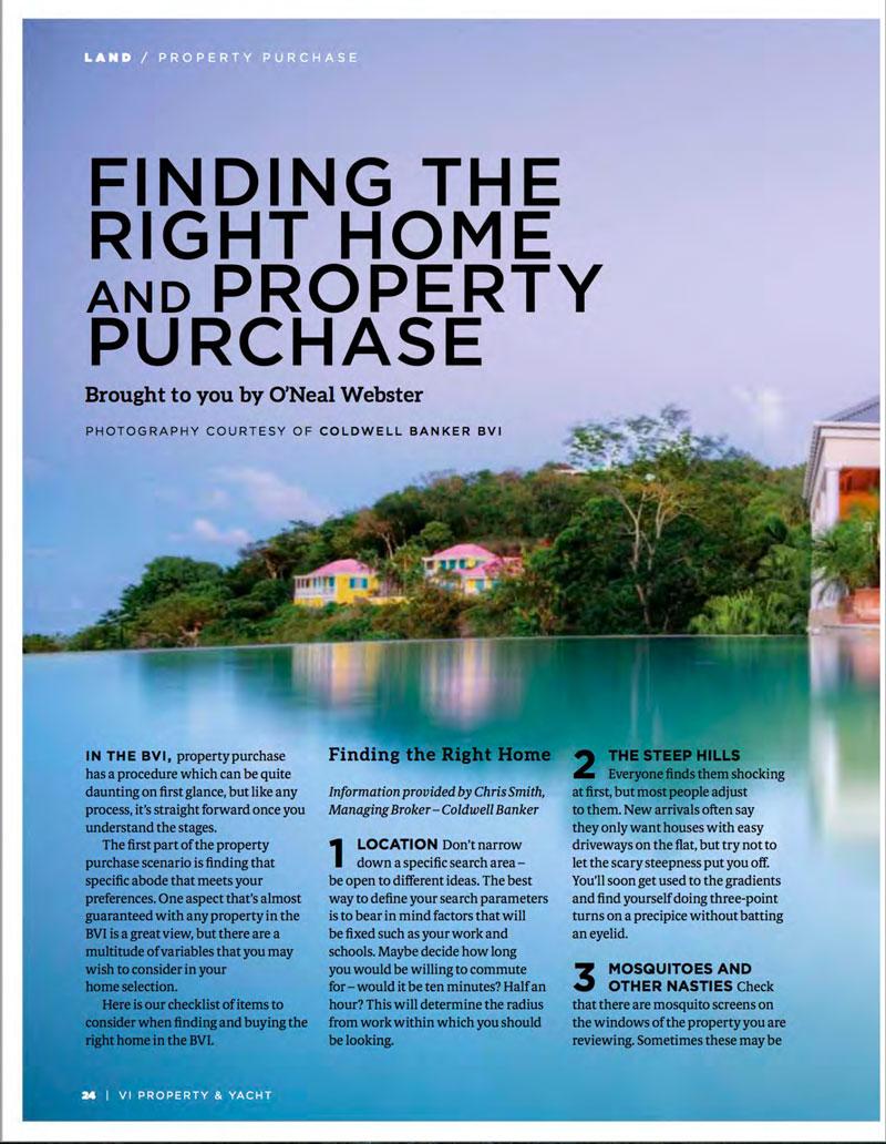 British Virgin Islands Dream Property